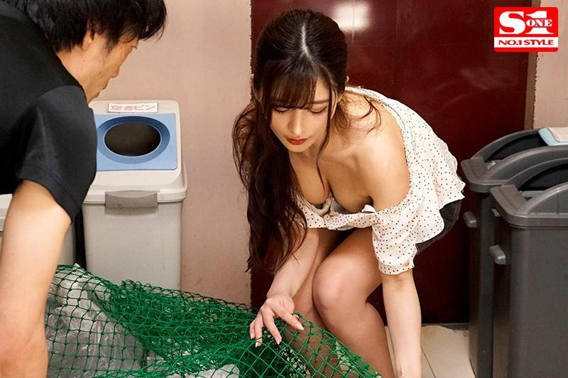 【波多野结衣】SSNI-884:不穿胸罩倒垃圾!忍不住盯著她的美乳和奶头看⋯